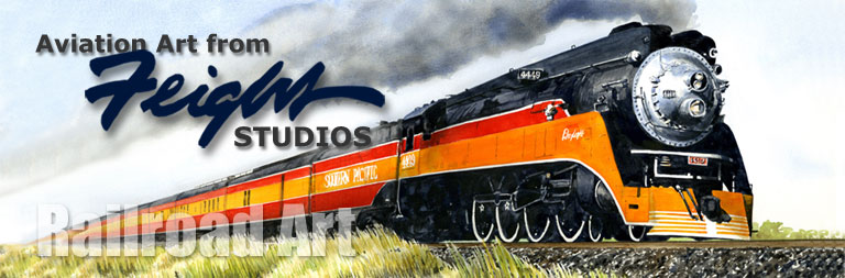 Railroad Art from Feight Studios